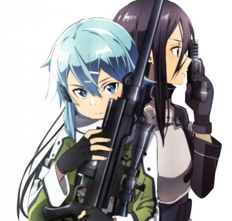 Sword Art Online Gun Gale Character Key
